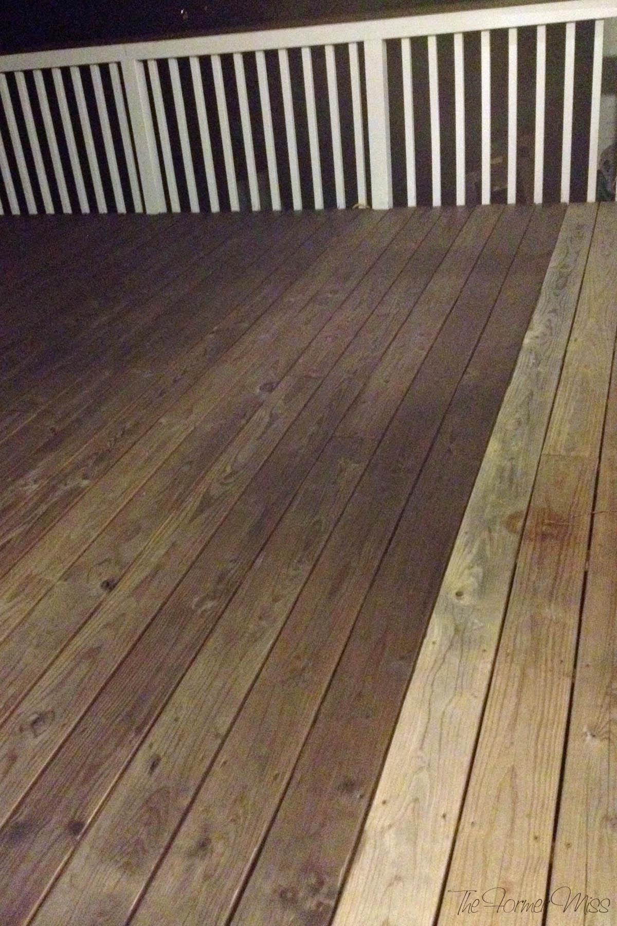 A Deck Makeover… Part 2!